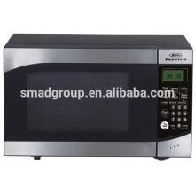 Mini horno de microondas de sobremesa de acero inoxidable 23L