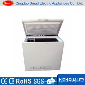 LPG gas powered and electric kerosene display chest freezer price