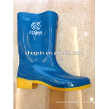 botas de lluvia de mujeres hermosas pvc golf