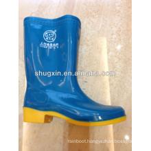 beautiful women pvc golf rain boots