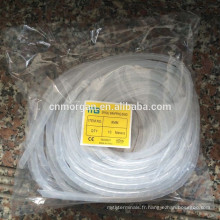 Colorful PE electric Spiral Wrapping Bands cable protecetion tube with CE approval