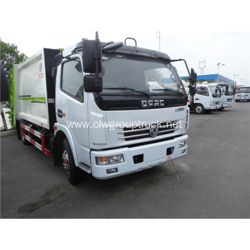 Diesel 4m3 compressing waste truck