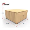 Cobertura de mesa de proteção UV à prova d'água Cobertura de móveis de pátio durável ao ar livre