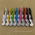 8 cores abridor de vinho multifunções saca-rolhas, abridor de saca-rolhas