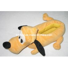 Plüsch Schuhe Cartoon Hund Angefüllte Plüsch Pantoffel
