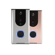 Campainha de vídeo Pro Wifi inteligente pro com câmeras de intercomunicação de porta de sensor de movimento pir