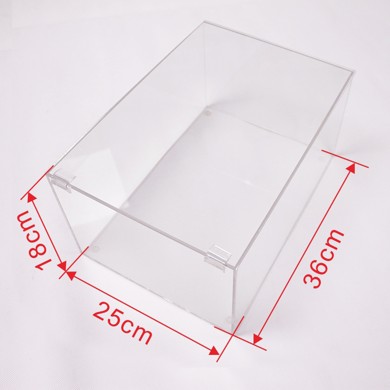 acrylic shoes display box
