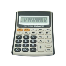 12 Digits Table Big Button Desktop Calculator