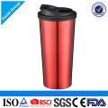 Curso da isolação térmica que bebe a boca larga caneca de café