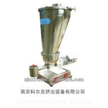 Máquina de granulación de la extrusora / alimentador de tipo ingravidez