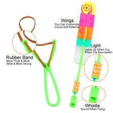 Flying Rocket Rubber Band Sling Shot Arrow Toy
