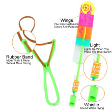 Flecha voladora led intermitente juguete de eyección