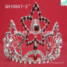 The beauty of the dynamic star crown,beauty pageant crown