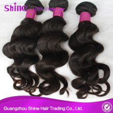 Brazilian Virgin Loose Wave 100 Human Hair
