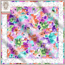 Printed Pattern Pictures Of Short Neck Scarves For Women