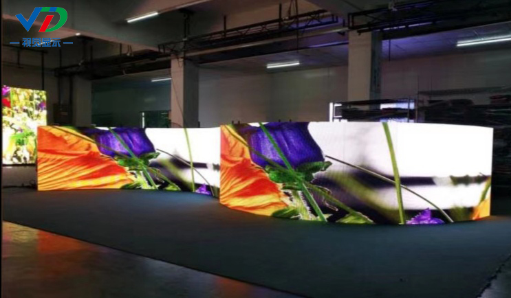 Curved Indoor LED Display