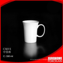 2015 vente chaude fashion design Chine porcelaine fine tasse