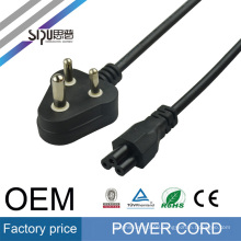 SIPU high quality INDIA plug power cord for PC wholesale power cords with molded plug best price fuse power cable