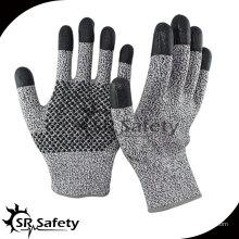 13 калибр Cut Resistant Nitrile Рабочая перчатка / нитриловые точки на пальмовых перчатках