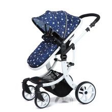 Großhandel Luxus 3 in 1 New Fancy Kinderwagen Kinderwagen für Säuglings- und Kleinkindpuppenwagen mit Autositz