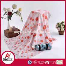 100 polyester Beautiful design printed polar fleece