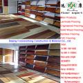 Plancher en bambou naturel UV de couleur naturelle lisse de laque