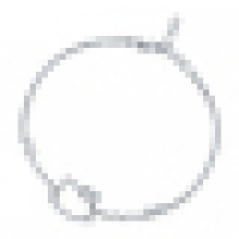 Pulsera linda del gato de plata esterlina 925 de las mujeres