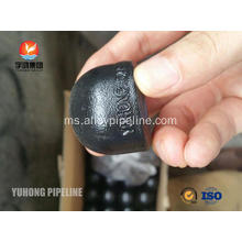 Butt Weld Fitting, ASTM A234 WPB, CAP, BW B16.9, SCH STD, SCH40, SCH80 Black Painting