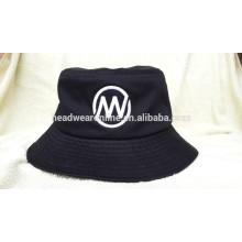 Personalizado de alta qualidade embroidery Bucket Hat de 100% algodão