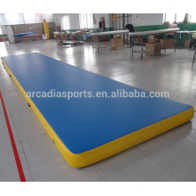 Cheap Gymnastics Cheerleading colchonetas inflable Air Fitness ejercicio