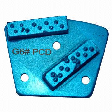PCD Magnetic Diamond Grinding Plate, OEM and ODM Orders are Welcome