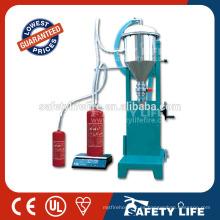 Máquina para carga de extintores / Recarga de extintor