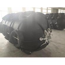 floating boat inflatable rubber yokohama type marine fender with net