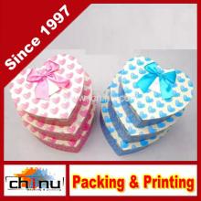 Caja de regalo de papel con OEM personalizado y en Stock (110383)