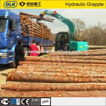 A máquina escavadora de 360 graus que gira a madeira hidráulica luta para a máquina escavadora 20ton