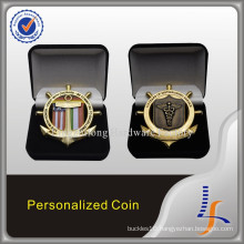 Special Shaped Challenge Coin with Box Display