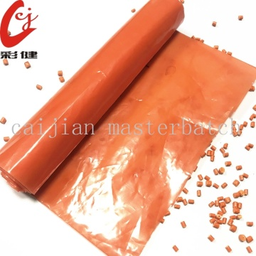 Dark Orange Thổi phim Masterbatch Granule