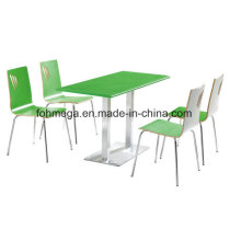 New&Hot Green Color Coffee Shop Furniture