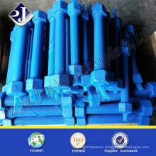 din975 thread steel rod geomet blue