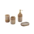 Ensemble d'accessoires de salle de bain étanche