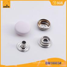 Tapón de nylon Botón de presión de metal BM10803