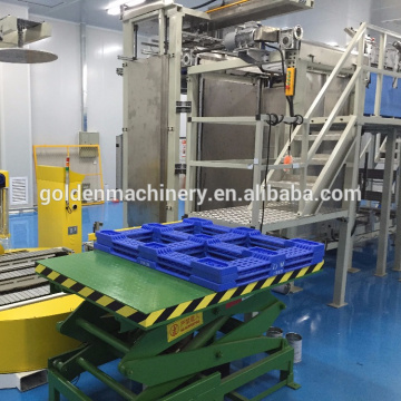 Empty Can Packing Palletizer and Stacker Line