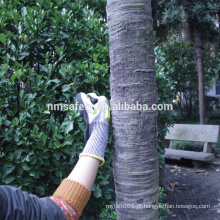 Nmsafety 13g TPR Anti corte anti impacto nitrilo arenoso em luvas de trabalho de palma