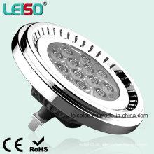 Tamanho do halogênio 12.5W LED AR111 (LS-S012-G53-LWW / LW)