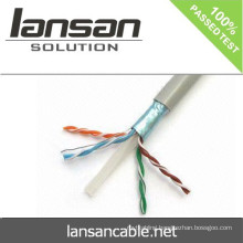 2015 Hot sale FLUKE Tested Ftp Cat6 Communication Cable/Network Cable/LAN Cable