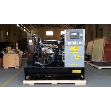 opened diesel generator