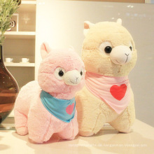 Weihnachtsgeschenk billig Spielzeug Kinder Partei Dekoration Riese gefüllt Tier Alpaka Plüschtier