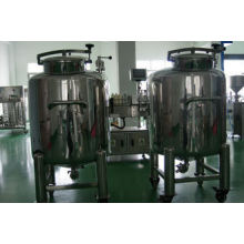 Vertical 100 - 15000l304l Stainless Steel Storage Tanks  With Mobile Wheels