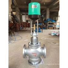 China hizo precio barato de alta calidad de control de flujo de proceso proporcional que regula la válvula de globo con posicionador