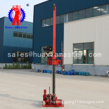 The 50 meters small sampling rig which can be disassembled by diesel engine power geological engineering rig is easy to mount